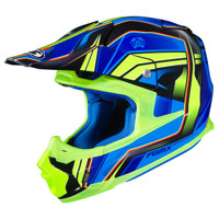 HJC FG-MX Piston Helmet Blue/Green