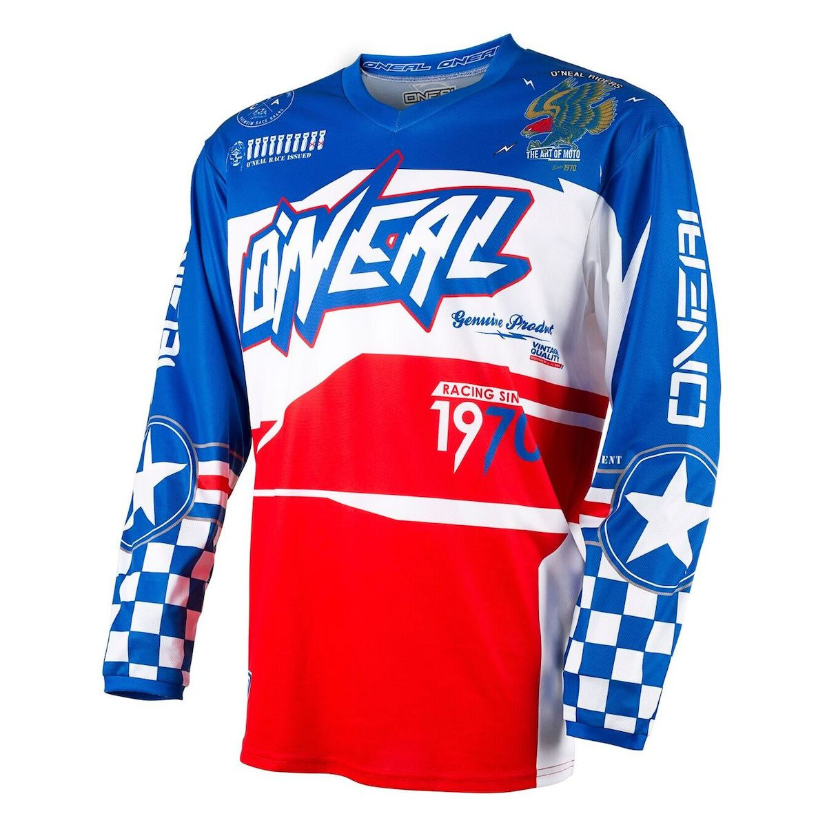 13f0e68ec Oneal Racing Youth Element Afterburner Jersey - Motorcycle House