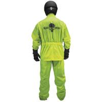 Black Brand Hi-Vis Rain Suit 2