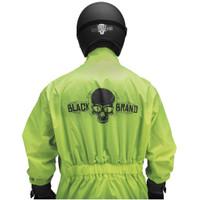 Black Brand Hi-Vis Rain Suit 4