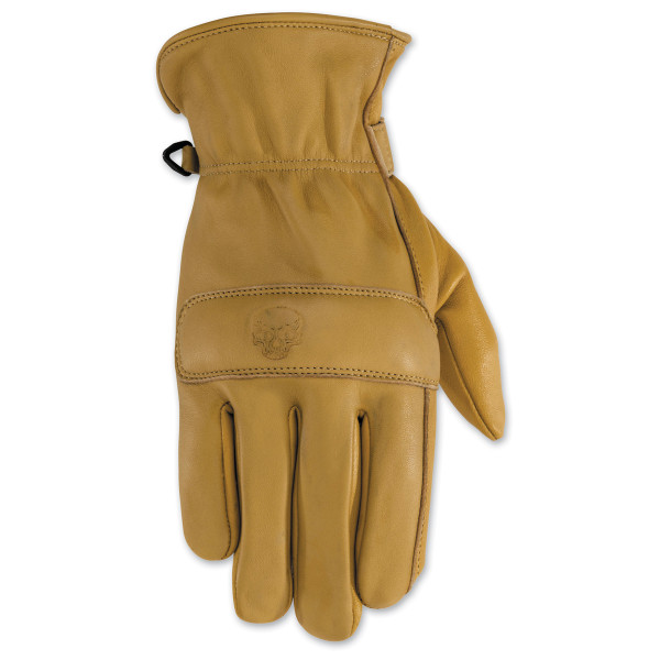 Black Brand Rally Gloves Brown