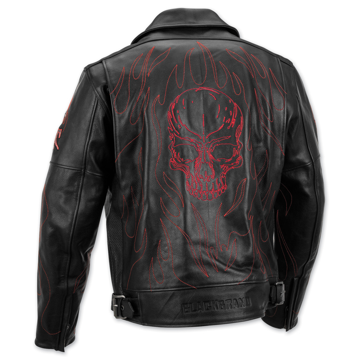 07120c8bd6b36 Black Brand Spontaneous Human Combustion Jacket - Motorcycle House