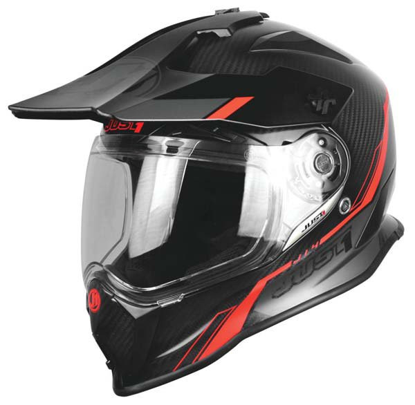 Just1 J14 Line Helmet Red
