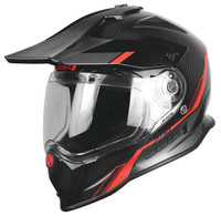 Just1 J14 Line Helmet Red