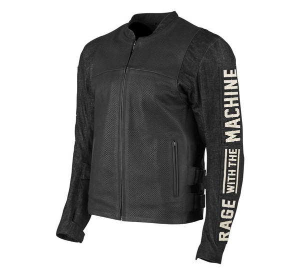 Speed and Strength Men's Rage With The Machine Leather Denim Main View