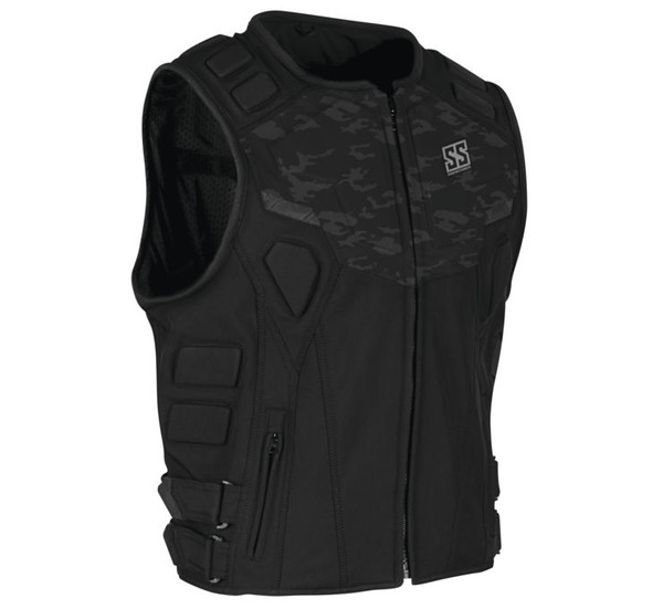 Speed and Strength Men's Critical Mass Armored Vest Camo Main View