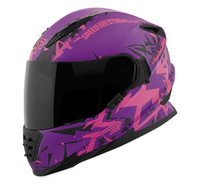 Speed and Strength SS1600 Critical Mass Helmet Pink/Purple View