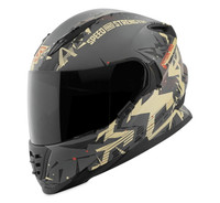 Speed and Strength SS1600 Critical Mass Helmet Sand/Charcoal View