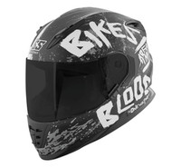 Speed and Strength SS1310 Bikes Are In My Blood Helmet Black/White View