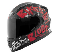Speed and Strength SS1310 Bikes Are In My Blood Helmet Red/Black View
