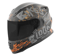 Speed and Strength SS1310 Bikes Are In My Blood Helmet Black/Grey View