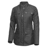 Roland Sands Design Women's Ginger Textile Jacket Black 1