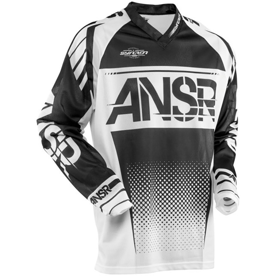 Answer Racing A17.5 Syncron Air Mens Off-Road Motorcycle Jerseys Red//White//X-Small