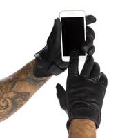 Viking Cycle Men's Premium Leather Standard Motorcycle Cruiser Gloves 2
