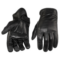 Viking Cycle Men's Premium Leather Standard Motorcycle Cruiser Gloves