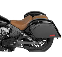 National Cycle Cruiseliner Hard Saddlebags for Indian And Victory