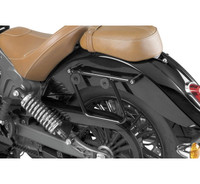 National Cycle Cruiseliner Hard Saddlebags Black Mounting Kit for Indian