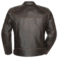 Cortech Dino Jacket Brown Back View