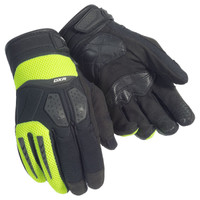 Cortech DXR Gloves For Men's Black/Hi-Viz/Yellow View