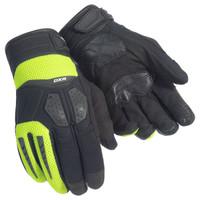Cortech DXR Gloves For Men's Black/Hi-Viz/Yellow View