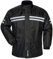 Tour Master Shield Two Piece Rainsuit Black