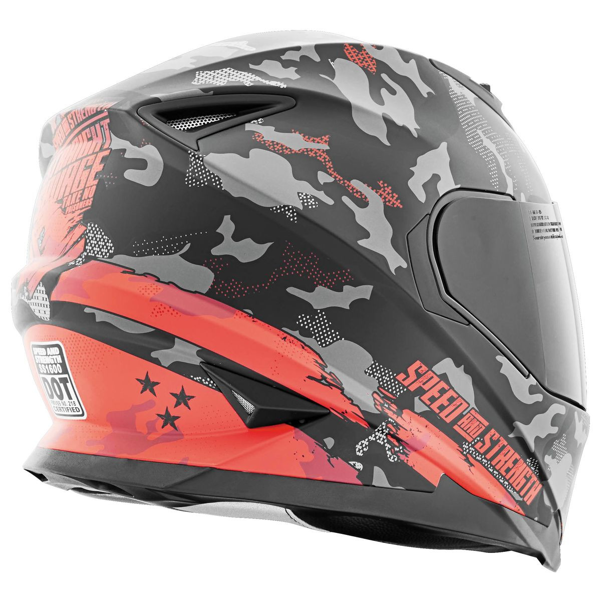5cd4bd7c Speed and Strength SS1600 Straight Savage Helmet. Image 1. Tap to expand ·  Image 1 · Image 2 ...