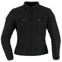 Black Brand Women's Roxxy Textile Jacket Black Main View