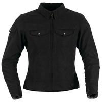 Black Brand Women's Roxxy Textile Jacket Black Main View