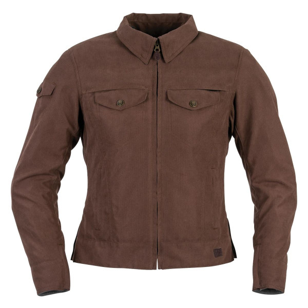 Black Brand Women's Roxxy Textile Jacket Brown Main View