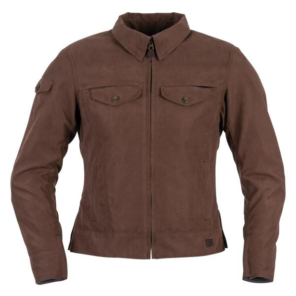 Black Brand Women's Roxxy Textile Jacket Brown Main View