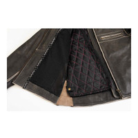 Black Brand Women's Vintage Rebel Leather Jacket