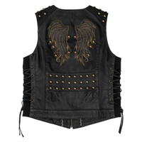 Black Brand Women's Mantra Leather Vest