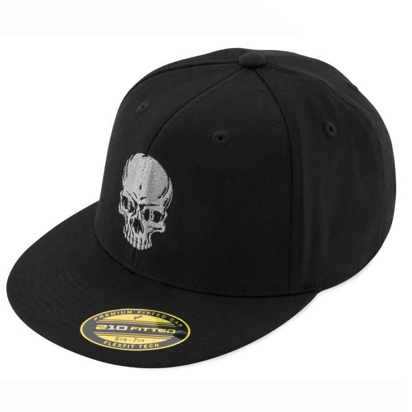 Black Brand Men's Skull Flex Hat