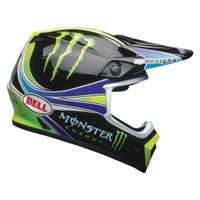 Bell MX-9 MIPS Pro Circuit Replica 2018 Helmet 06