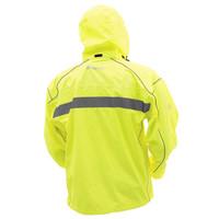Frogg Toggs Java 2.5 Illuminator Rain Jacket  Hi-Viz Back View