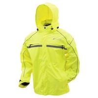 Frogg Toggs Java 2.5 Illuminator Rain Jacket Hi-viz Main View