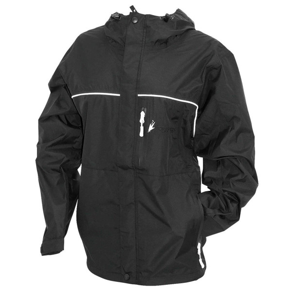 Frogg Toggs Women's Java Toadz Rain Jacket Main Black View