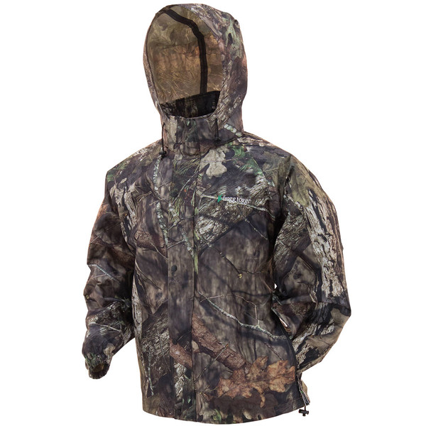Frogg Toggs Pro Action Camo Rain Jacket Mossy Oak Break-Up Country View