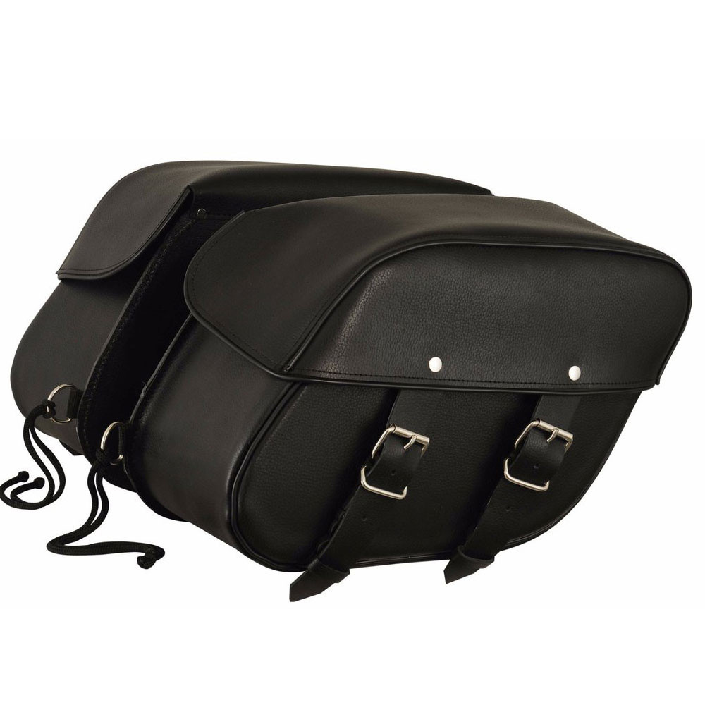 a77f7776a0b4 ... Leather Double Straps Saddlebags. Image 1. Tap to expand · Image 1 ...