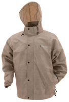Frogg Toggs Pro Action Rain Jacket Tan View
