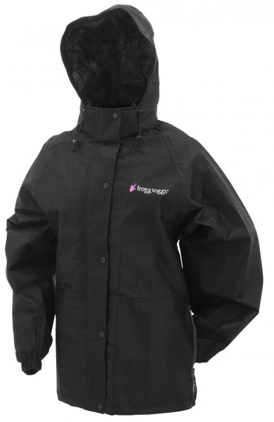 Frogg Toggs Women's Pro Action Rain Jacket Black View