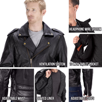 Viking Cycle Dark Age Motorcycle Jacket for Men All in One View