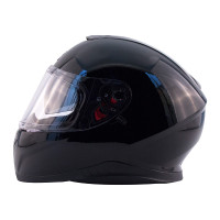 Zox Z-FF10 Solid Full Face Helmet Black View