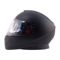 Zox Z-FF10 Solid Full Face Helmet Matte Black