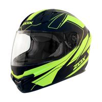 Zox Primo C Track Full Face Helmet Hi-Viz/Yellow View