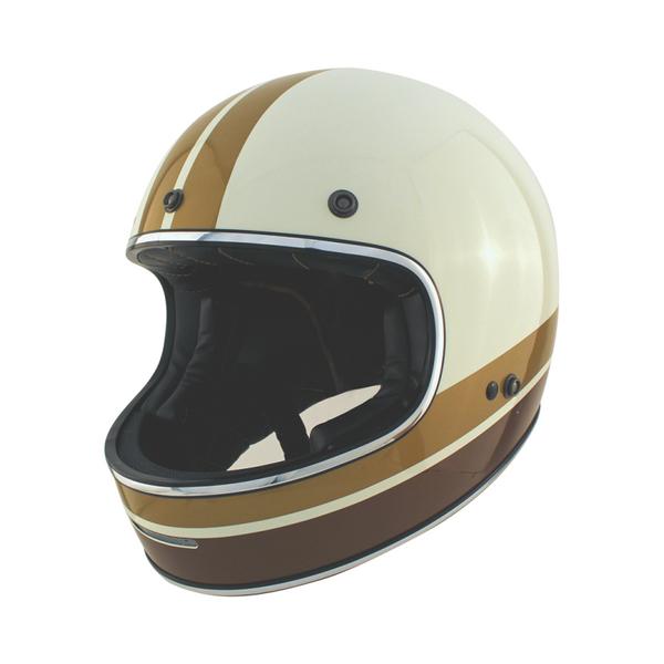 Zox Blitz Vogue Full Face Helmet Cream View