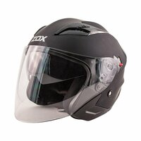 Zox Journey Solid Open Face Helmet Main View