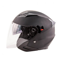 Zox Journey Solid Open Face Helmet Side View