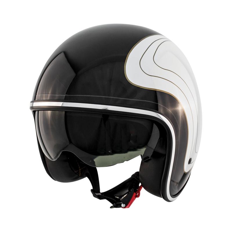 Zox Route 80 Open Face Helmet w// Inner Sun Shield DOT Quick Release