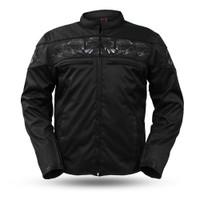 First Classics Men's Textile Savage Skulls Jacket